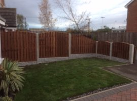 Concrete Post Fencing Leeds