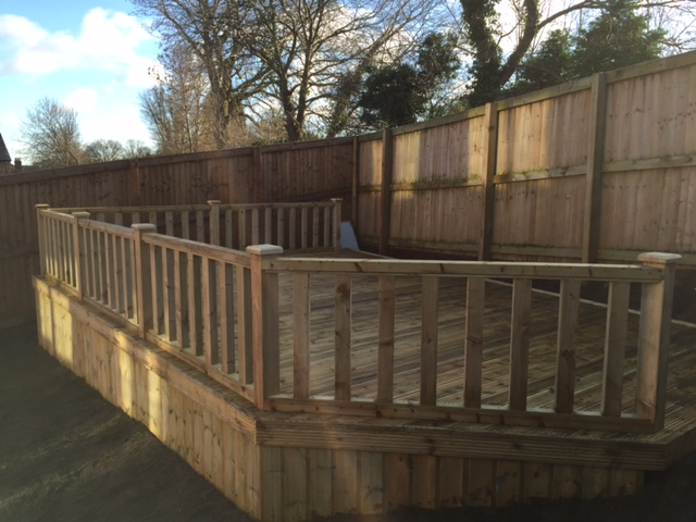 Wakefield Decking Installation