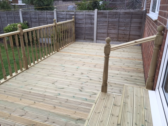 Leeds Decking Installation