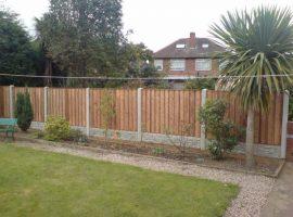 Garden Boundary Fence